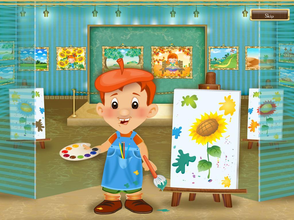 Describe With Art App