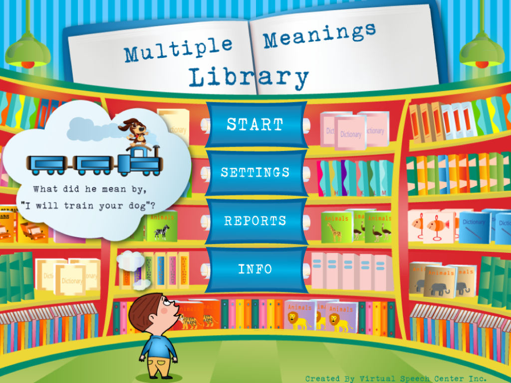 Multiple Meaning Words App