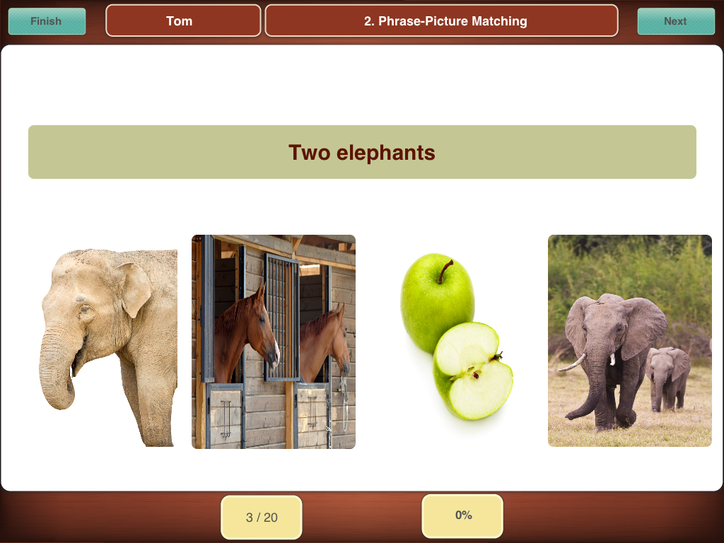 Reading Aphasia App – Aphasia Worksheets
