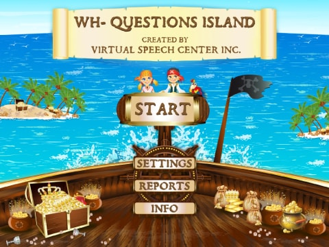 WH-Questions Island