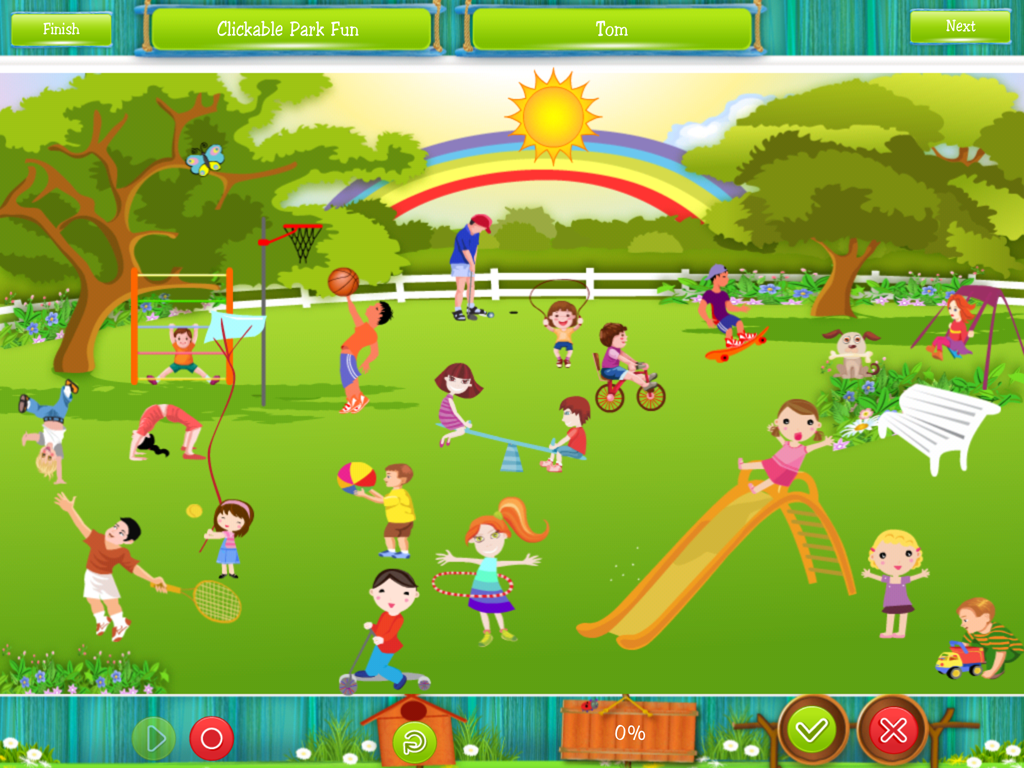 Speech Therapy app for IPad