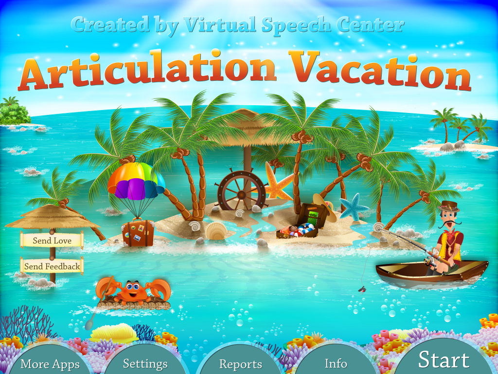 Articulation Vacation App