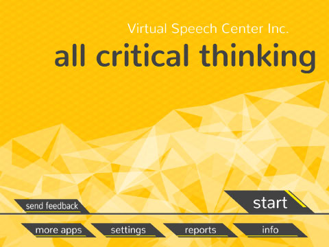 All critical thinking