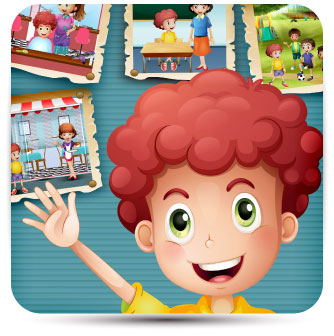 The Social Skills with Billy app was designed by a speech pathologist to allow children with autism to practice their social skills and pragmatic language in real-life situations and to practice identifying various feelings.